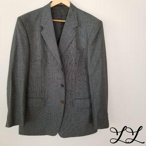 Bugatti Jacket Blazer Glack White Gray Ermenegildo